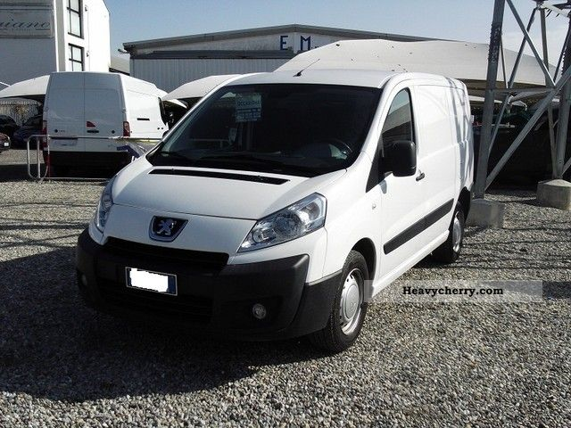 peugeot expert van 2007 box truck photo and specs. Black Bedroom Furniture Sets. Home Design Ideas