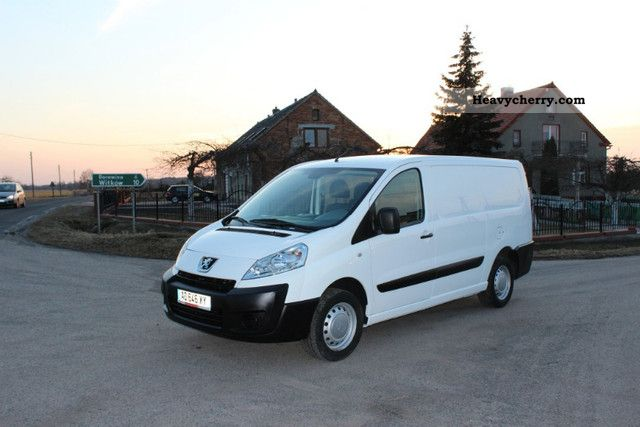 2009 Peugeot  Exert JUMPY SCUDO 2.0 HDI Dlugi 2009 R Van or truck up to 7.5t Box-type delivery van photo