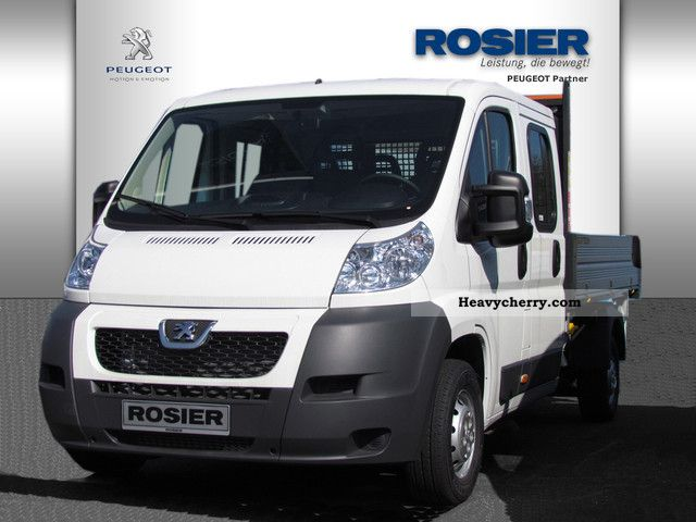 2011 Peugeot  Boxer 335 Bison 3-side tipper DOKA 2.2 HDI 130 Van or truck up to 7.5t Tipper photo