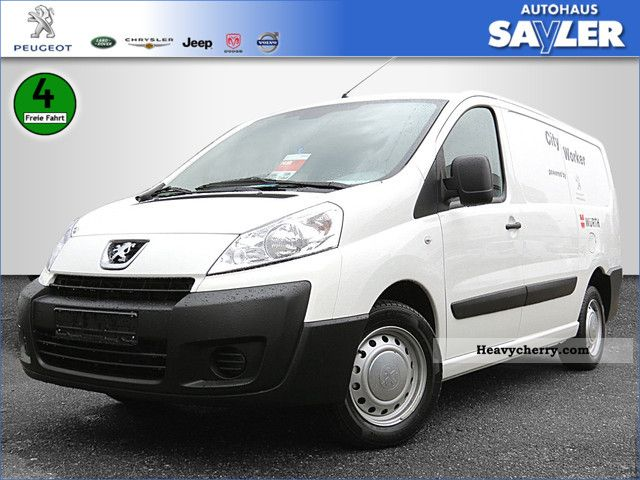 2011 Peugeot  Expert L2H1 HDI 130 Box AIR Van or truck up to 7.5t Box-type delivery van - long photo