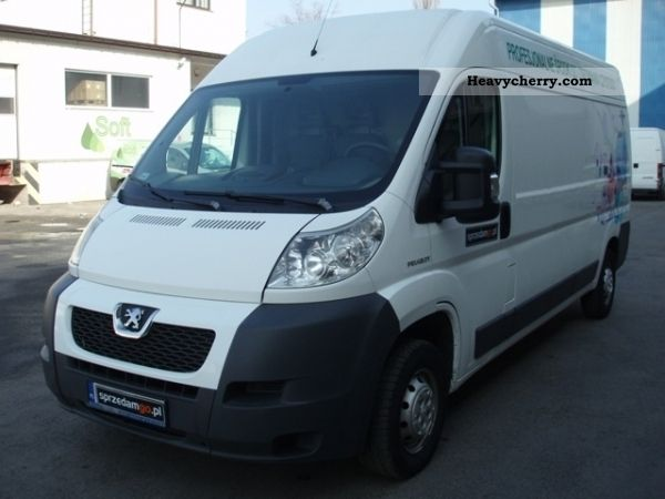 2007 Peugeot  Boxer VAT23 p POLSKA SPRZEDAMGO Van or truck up to 7.5t Other vans/trucks up to 7 photo