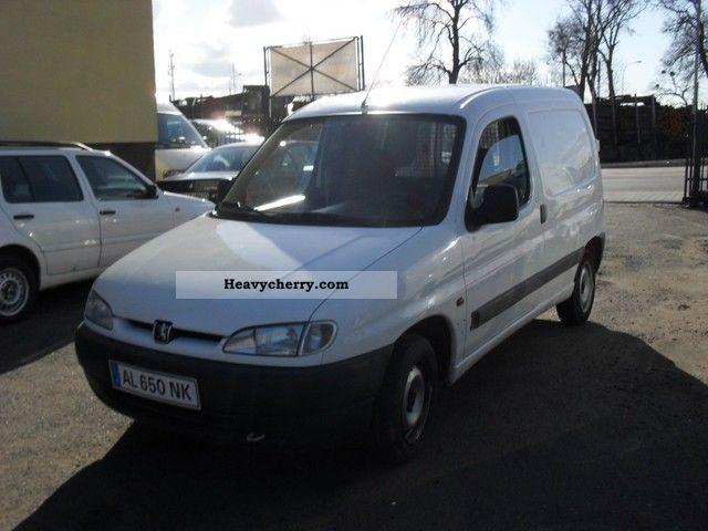 peugeot partner d 1997 other vans trucks up to 7 photo and. Black Bedroom Furniture Sets. Home Design Ideas