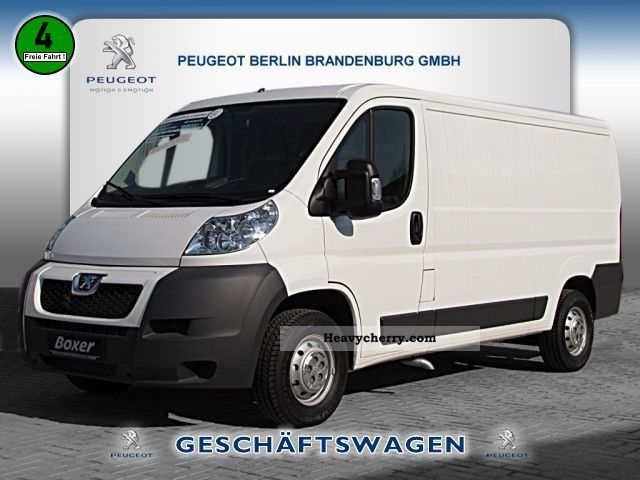 2012 Peugeot  Boxer L2H1 HDI 100 Box AIR Van or truck up to 7.5t Box-type delivery van - long photo