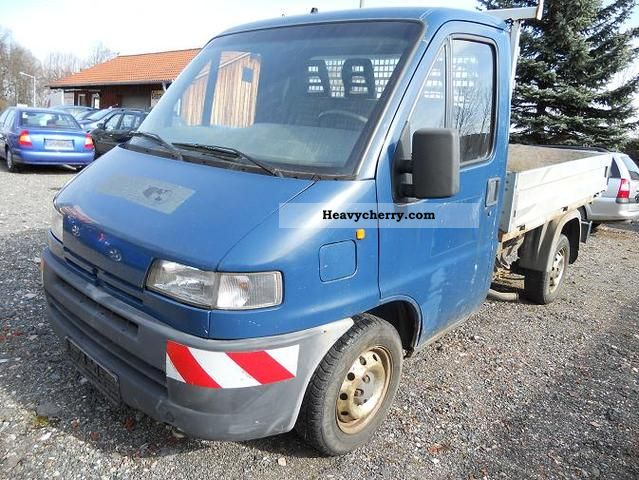 1998 Peugeot  Boxer Van or truck up to 7.5t Stake body photo