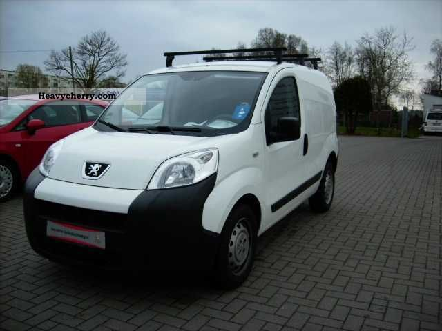 2010 Peugeot  Bipper 1.4 basis Van or truck up to 7.5t Other vans/trucks up to 7 photo