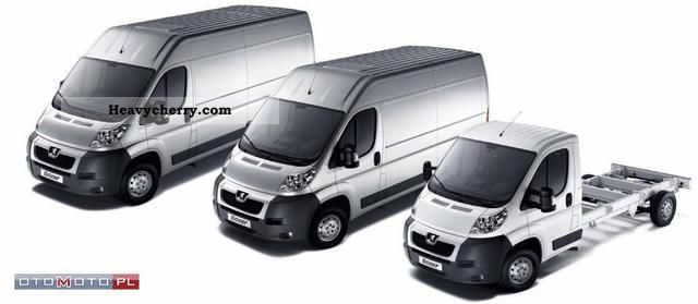 2012 Peugeot  Boxer - Dopasuj wersję dla siebie Van or truck up to 7.5t Other vans/trucks up to 7 photo