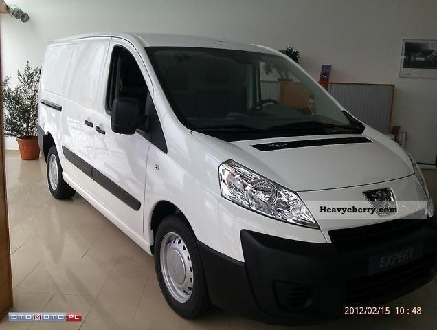 2012 Peugeot  Expert Van or truck up to 7.5t Other vans/trucks up to 7 photo