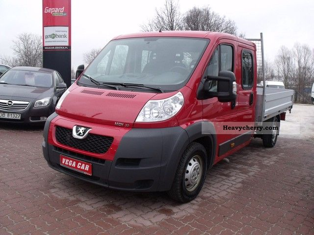 2011 Peugeot  Doka Boxer HDI 160 KM FP 7-bedded Van or truck up to 7.5t Other vans/trucks up to 7 photo
