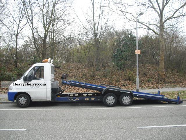 1997 Peugeot  Boxer / el.Hydraulisch Plateau / winch / Van or truck up to 7.5t Breakdown truck photo