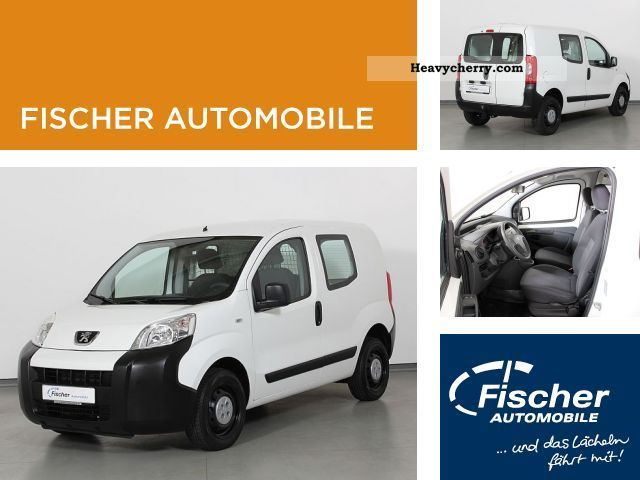 2010 Peugeot  Bipper 1.4 5-Gg. Van or truck up to 7.5t Box-type delivery van photo