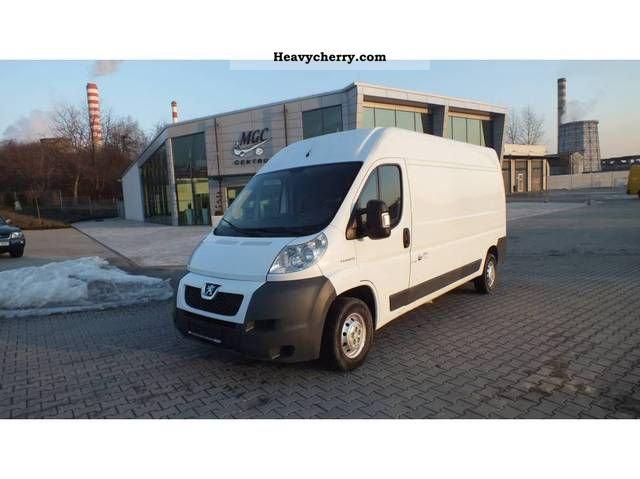 2007 Peugeot  BOXER L3H2 MAXI FURGON ładny A TANI Van or truck up to 7.5t Other vans/trucks up to 7 photo