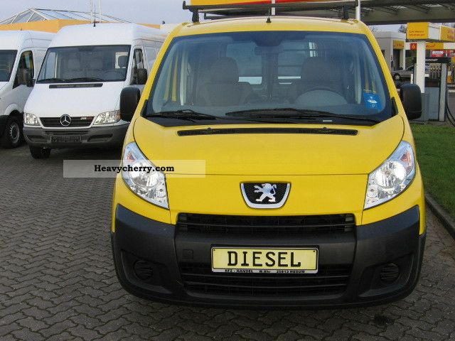 2008 Peugeot  Expert 1.6 HDI Van or truck up to 7.5t Box-type delivery van photo