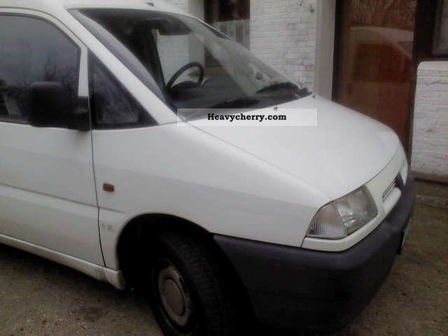 1996 Peugeot  Expert Van or truck up to 7.5t Box-type delivery van photo