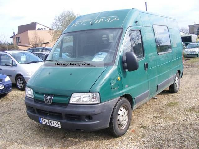 2003 Peugeot  Boxer 2.0 HDI 127km pełna f / vat kraj serwis 7 Van or truck up to 7.5t Other vans/trucks up to 7 photo