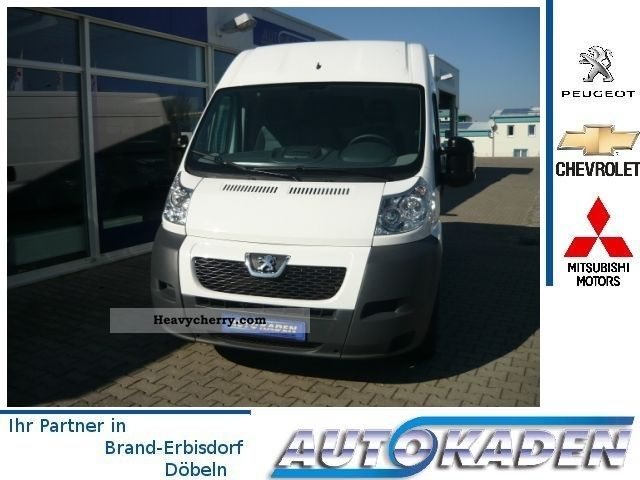 2011 Peugeot  Boxer high space-Box / L2H2 Van or truck up to 7.5t Box-type delivery van - high photo