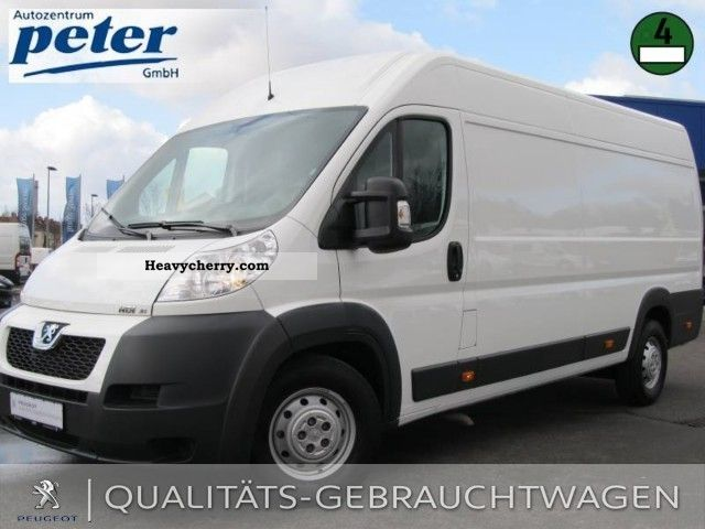 2011 Peugeot  Boxer 435 L4H2 HDI 145 air Van or truck up to 7.5t Box-type delivery van - high photo