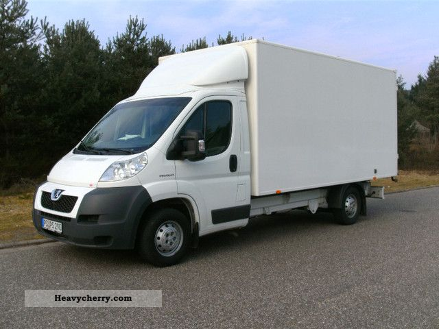 2009 Peugeot  Boxer Van or truck up to 7.5t Box photo