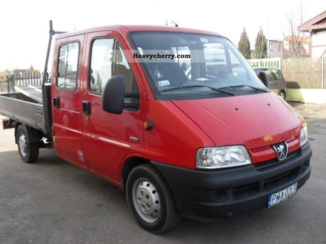 2005 Peugeot  Boxer HDI! 6 - bedded! Van or truck up to 7.5t Other vans/trucks up to 7 photo