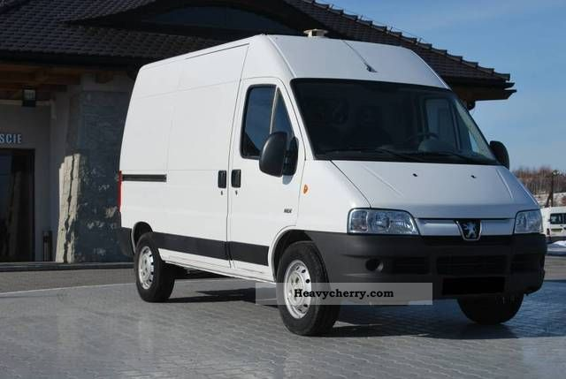 2006 Peugeot  BOXER L2H2 Van or truck up to 7.5t Other vans/trucks up to 7 photo