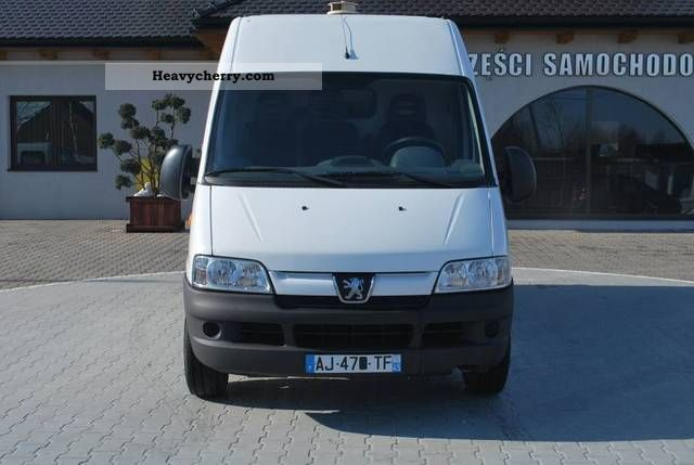 peugeot boxer l2h2 2006 other vans trucks up to 7 photo and specs. Black Bedroom Furniture Sets. Home Design Ideas