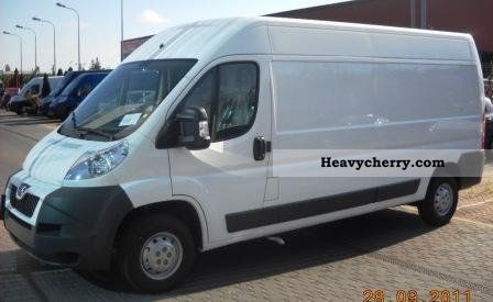 2011 Peugeot  Boxer 335L3H2 2.2HDI 130KM SUPER Van or truck up to 7.5t Other vans/trucks up to 7 photo