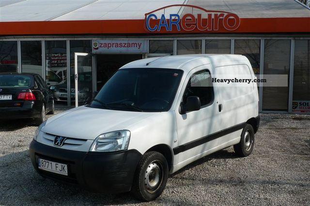 2006 Peugeot  Partner Van or truck up to 7.5t Other vans/trucks up to 7 photo