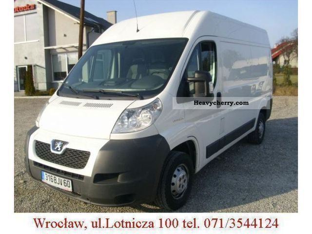 2007 Peugeot  Boxer L2H2 Van or truck up to 7.5t Other vans/trucks up to 7 photo