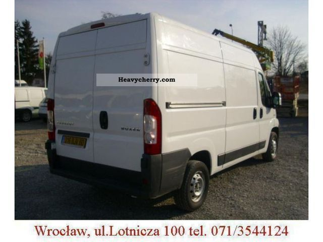peugeot boxer l2h2 2007 other vans trucks up to 7 photo and specs. Black Bedroom Furniture Sets. Home Design Ideas