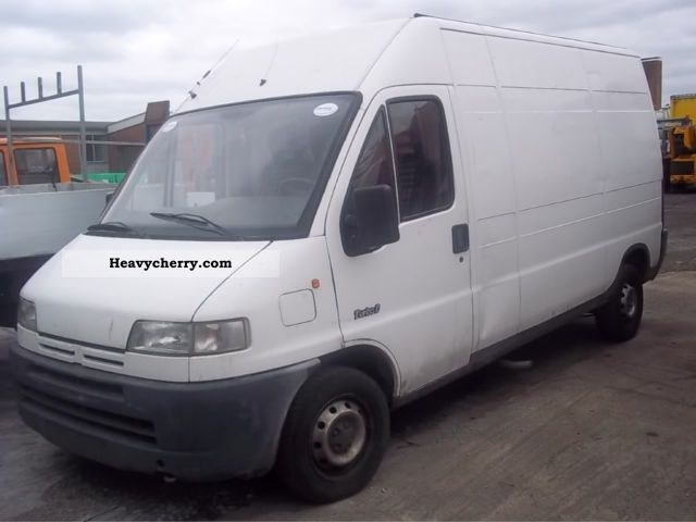 1998 Peugeot  Boxer Van or truck up to 7.5t Box-type delivery van - high photo