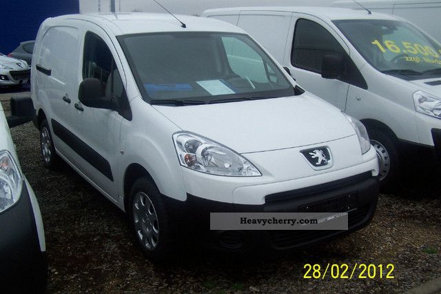2012 Peugeot  Partner HDI 90 kW L2 Van or truck up to 7.5t Box-type delivery van - long photo