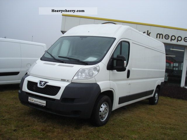 2010 Peugeot  Boxer L3H2 DPF 335LH 3-seater Van or truck up to 7.5t Box-type delivery van - high photo