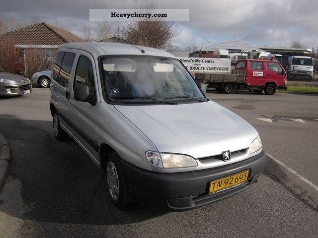 2002 Peugeot  Partner 2,0 HDi Van or truck up to 7.5t Other vans/trucks up to 7 photo