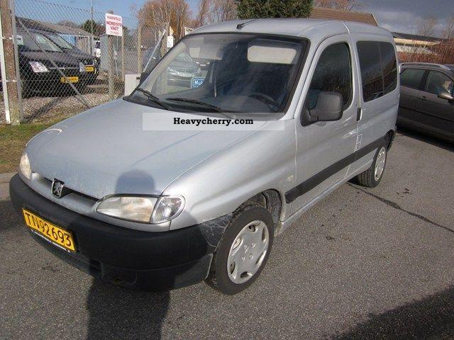 peugeot partner 2 0 hdi 2002 other vans trucks up to 7. Black Bedroom Furniture Sets. Home Design Ideas