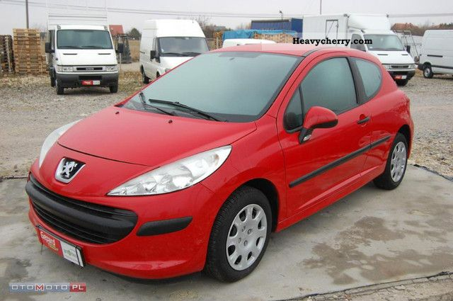 2009 Peugeot  207 1.4 HDI Van climate Ciężarowy VAT-1 Van or truck up to 7.5t Box-type delivery van photo