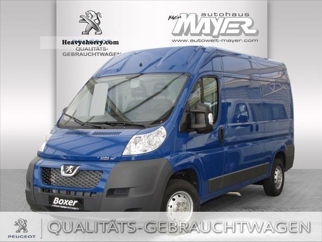 2012 Peugeot  Boxer Van 333 L2 H2 HDi 180 FAP Van or truck up to 7.5t Box-type delivery van photo