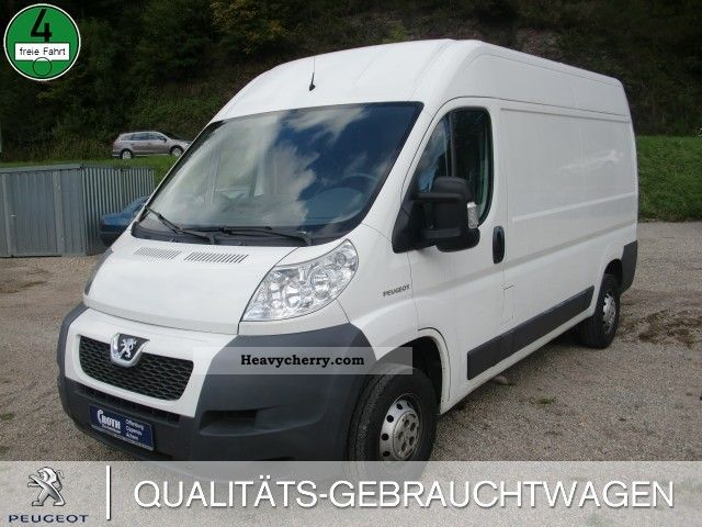 2007 Peugeot  Boxer 333 L2H2 electric window air Van or truck up to 7.5t Box-type delivery van - high photo