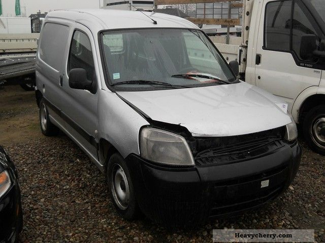 2003 Peugeot  Partner 2.0 HDI NOWY MODEL JEŻDZI Van or truck up to 7.5t Other vans/trucks up to 7 photo