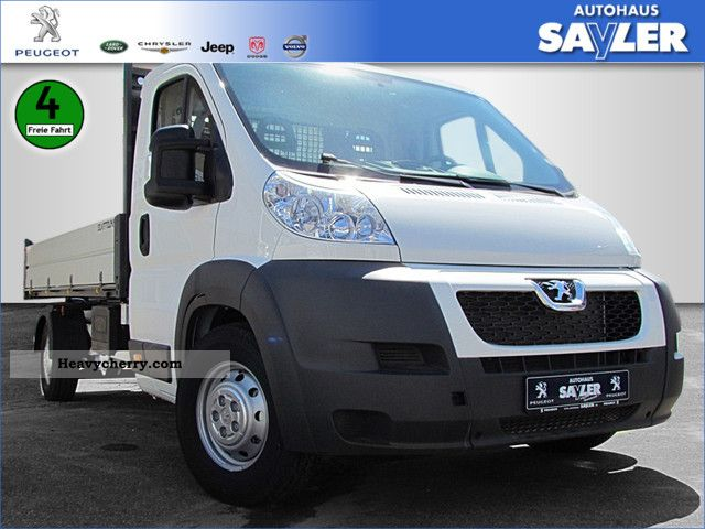 2011 Peugeot  Boxer 2.2 HDi Boxer 120 L3 BISON 3-way tipper Van or truck up to 7.5t Tipper photo