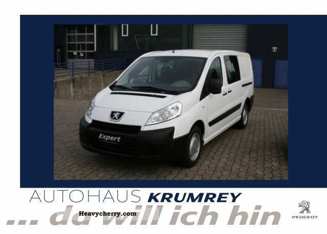 2011 Peugeot  Expert L2H1 HDI FAP 130 6-seater Snoeks Van or truck up to 7.5t Other vans/trucks up to 7 photo