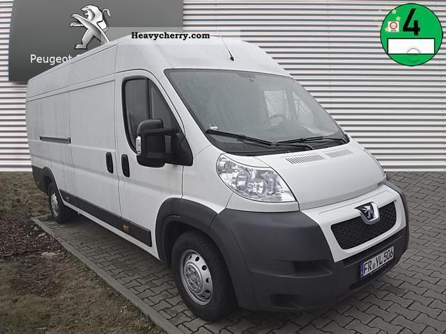2012 Peugeot  Boxer Avantage XLH 435 F 70 E5 Van or truck up to 7.5t Box-type delivery van photo