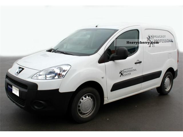 2011 Peugeot  Partners 1.6l HDI Van or truck up to 7.5t Other vans/trucks up to 7 photo