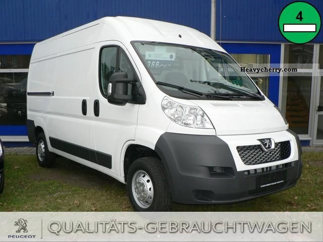 peugeot boxer 333 l2h2 2 2 hdi 2011 other trucks over 7 photo and specs. Black Bedroom Furniture Sets. Home Design Ideas