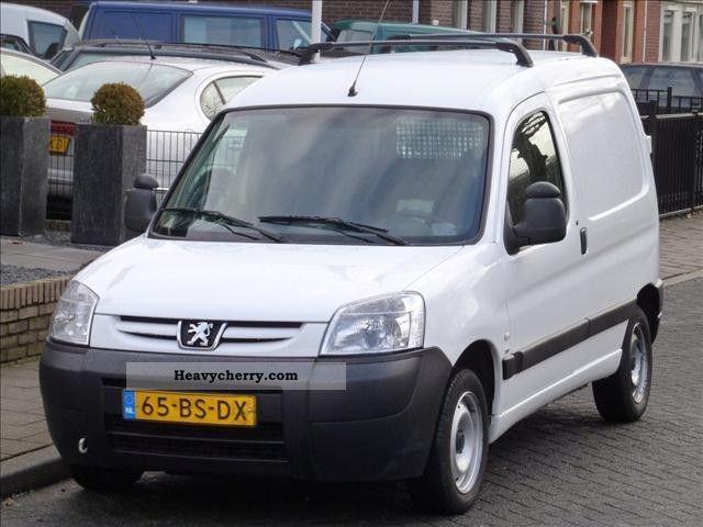 2005 Peugeot  Partner 2.0 HDI * 90PK Schuifdeur Van or truck up to 7.5t Box-type delivery van photo