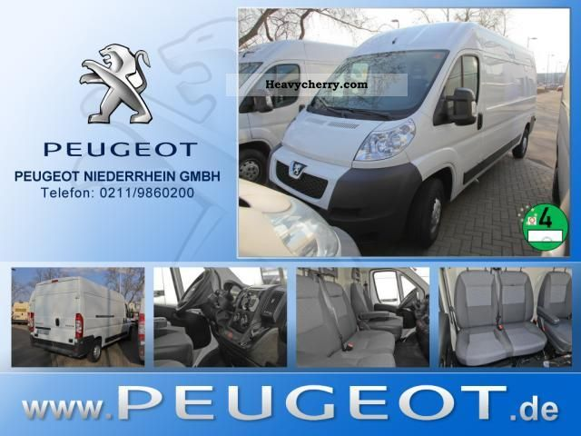 2012 Peugeot  Boxer 335 L2H2 high roof box Parktronic Van or truck up to 7.5t Box-type delivery van - high photo