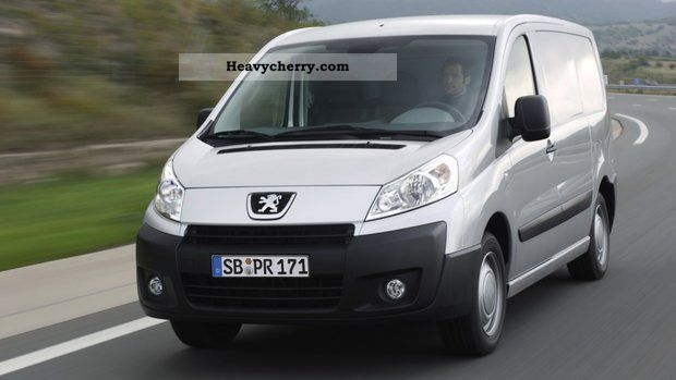 2012 Peugeot  Expert L2H2 1.2 tonnes of diesel from the partner Van or truck up to 7.5t Box-type delivery van - high photo