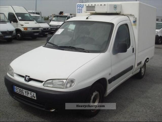 2001 Peugeot  Partners fgtte 1.9 D FRIGO ISOTHERME Van or truck up to 7.5t Box photo