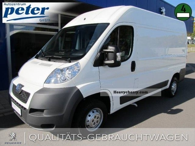 2011 Peugeot  Boxer 335 L2H2 HDi Van or truck up to 7.5t Box-type delivery van - high photo