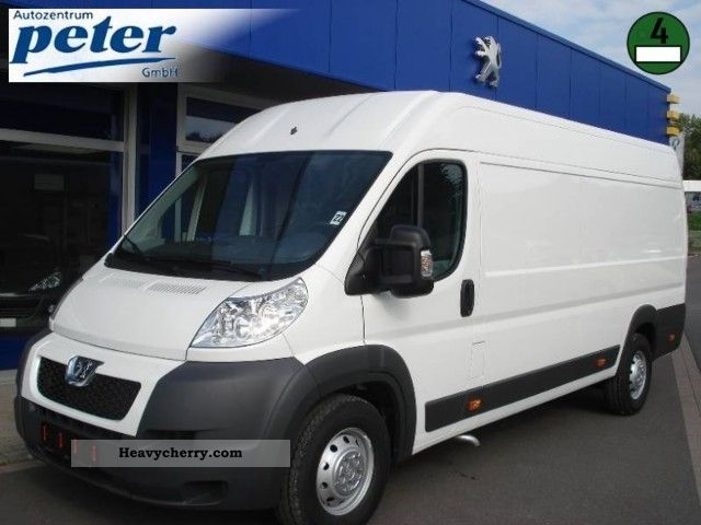 2010 Peugeot  Boxer 435 L4H2 HDi 120 Van or truck up to 7.5t Box-type delivery van - high photo