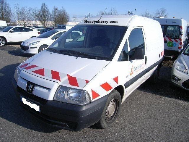 2005 Peugeot  Expert (Govorim) Van or truck up to 7.5t Box-type delivery van - long photo