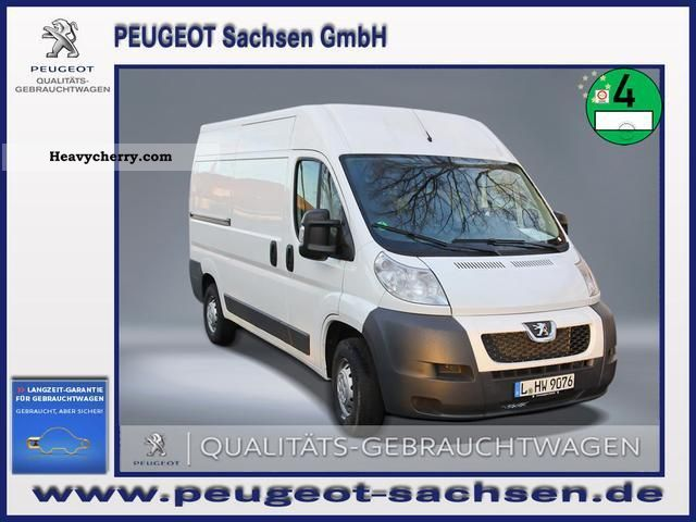 2012 Peugeot  Boxer HDI Avantage 130 333 MH Van or truck up to 7.5t Box-type delivery van - high photo